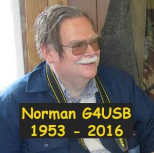 Silent Key Norman G4USB 1953-2016